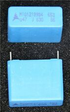 0.47uF 630V Polyester Film Capacitor - Pack of 3