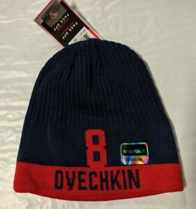 Image is loading Washington-Capitals-Knit-Beanie-Toque-Winter-Hat-Skull- c104dc7e8