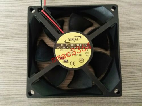 1PC ADDA Fan AD0824MB-A70GL 24V 0.1A