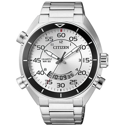 CITIZEN  Analog Digital JM5470-58A   JM5470  White Dail 50M+Original Box