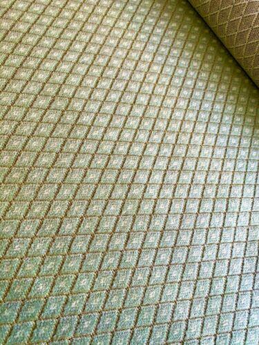 Cortina De Terciopelo Felpa Diamante Verde Sofá Cojín Tapicería tejido de mobiliario