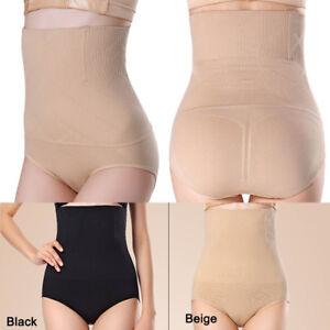 c7488c53f0137 Image is loading High-Waist-Shapewear-Seamfree-Slimming-Control-Briefs- Underwear-