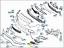 New-Genuine-MERCEDES-BENZ-C-Class-W205-Front-Bumper-Upper-N-S-Left-Grill-Trim thumbnail 6