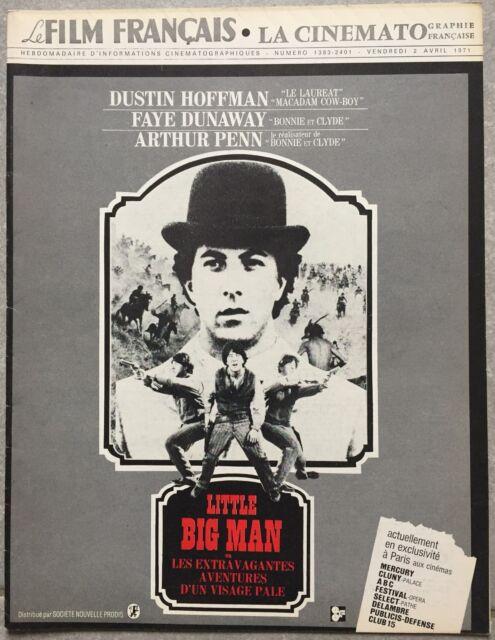 FILM FRANCAIS Cinématographie Française LITTLE BIG MAN Dustin Hoffman 1971*