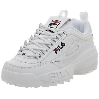 SALE!! FILA DISRUPTOR II 100% authentic Men's White Shoes FW01655 111 | eBay