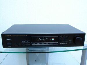 Onkyo-T-4051RDS-edler-Stereo-Tuner-mit-RDS-Empfang-Zubehoer-12-Mon-Garantie