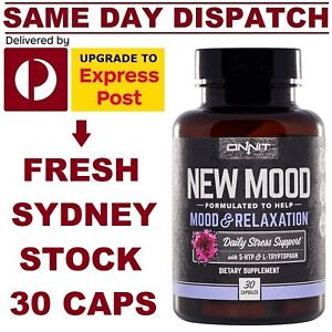 ONNIT-New-Mood-30-caps-5-HTP-L-Tryptophan-JRE-Alpha-Brain-Stress-Relaxation-Aid
