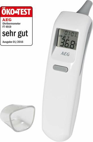 AEG Ohrthermometer mit Scanfunktion und Stoppuhr Fieber Thermometer Termometer