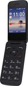 Flip-Phone-Alcatel-Smart-Flip-4052R-4G-LTE-4GB-All-Country-GSM-Unlocked-Black