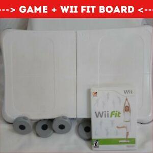Wii Fit Game + Wii Balance Board ~ Bundle