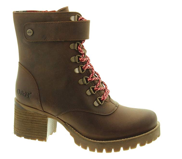 Oak & Hyde - Kensington Jungle - Cesar braun - Leather Ankle Stiefel