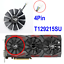 thumbnail 11 - Graphics Video Card Cooler Fan Replacement For ASUS Strix GTX 1000 Series 4-6Pin