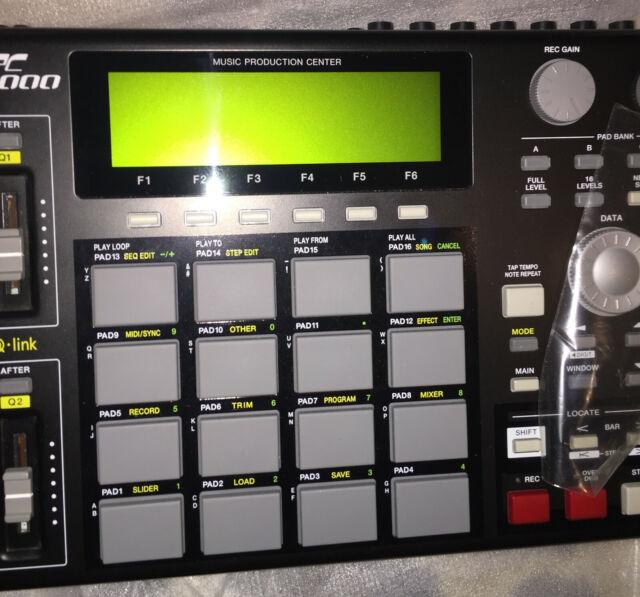 Akai MPC1000 Black Sampler Sequencer MPC 1000 U102 180702