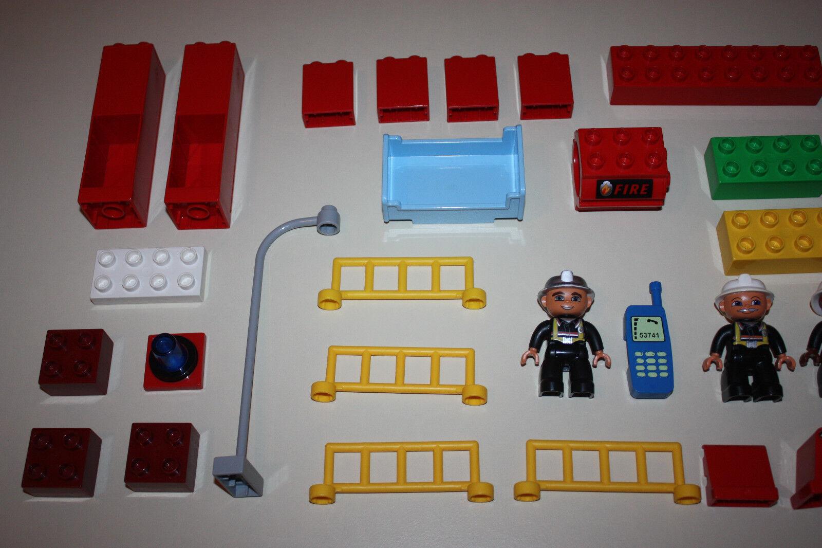 LEGO DUPLO VILLE 4664-    Feuerwehrstation    WIE ABGEBILDET 13f6eb