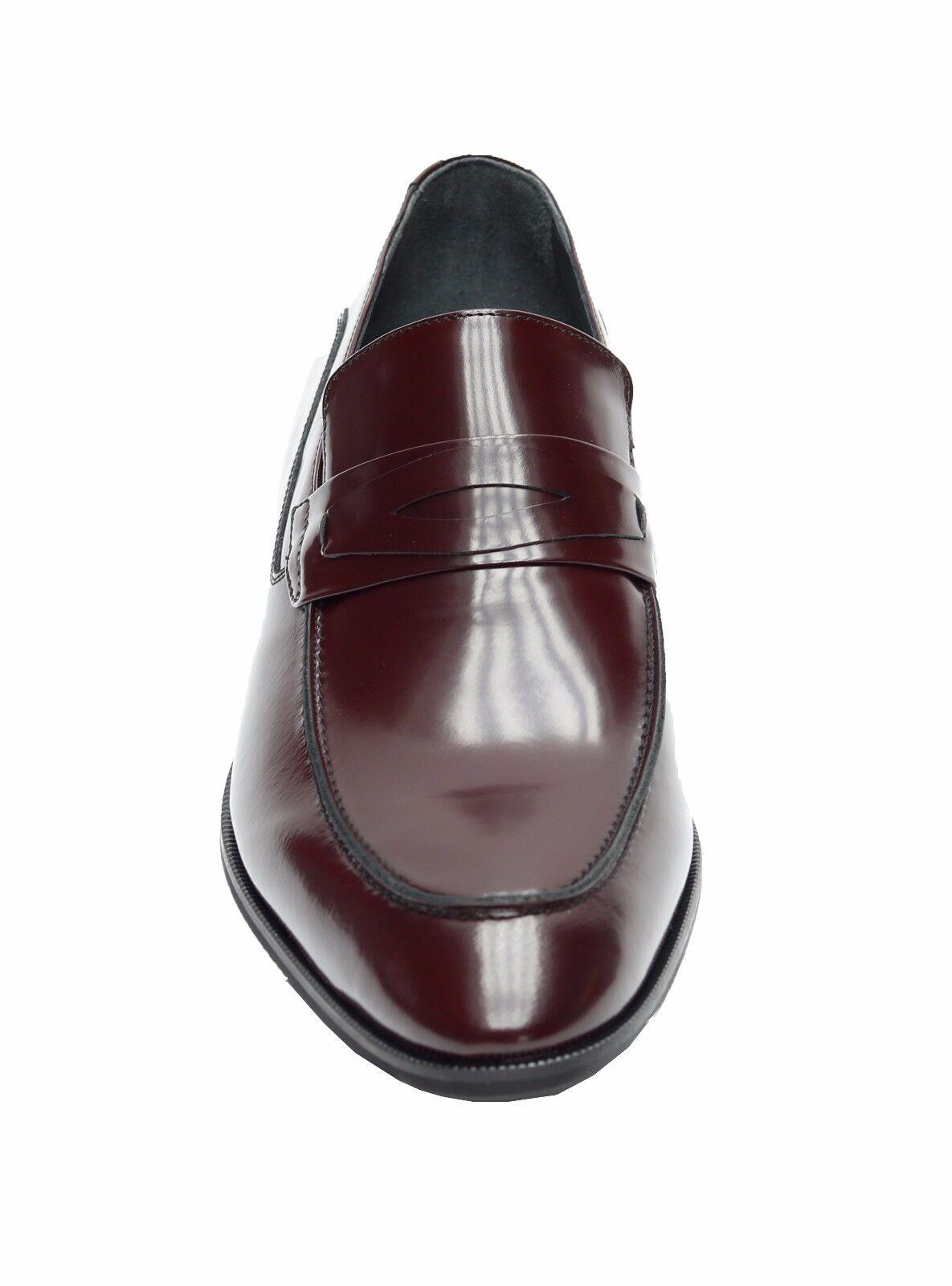 Muga Leder Herren Schuhe Gr.41 Bordeaux