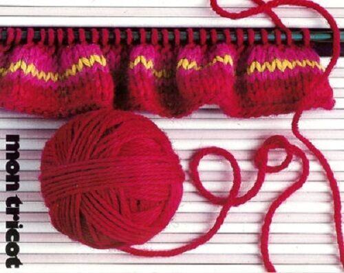 Knitting Encyclopedia Dictionary Mon Tricot 1500 Stitch Patterns Ebay