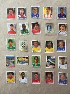 Panini-Sticker-Fussbal-WM-2010-25-Stueck-IV