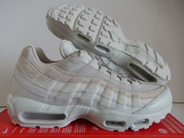 NIKE AIR MAX 95 PREMIUM LIGHT BONE LIGHT BONE STRING SZ 12.5 [538416 011]