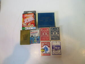 Lot of Bicycle Playing Cards and Card Games