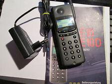 Siemens E 10 D schwarz SIM D1 T-kom/D 2 Vodafon Heft super ok gebr Art Nr. 69 P