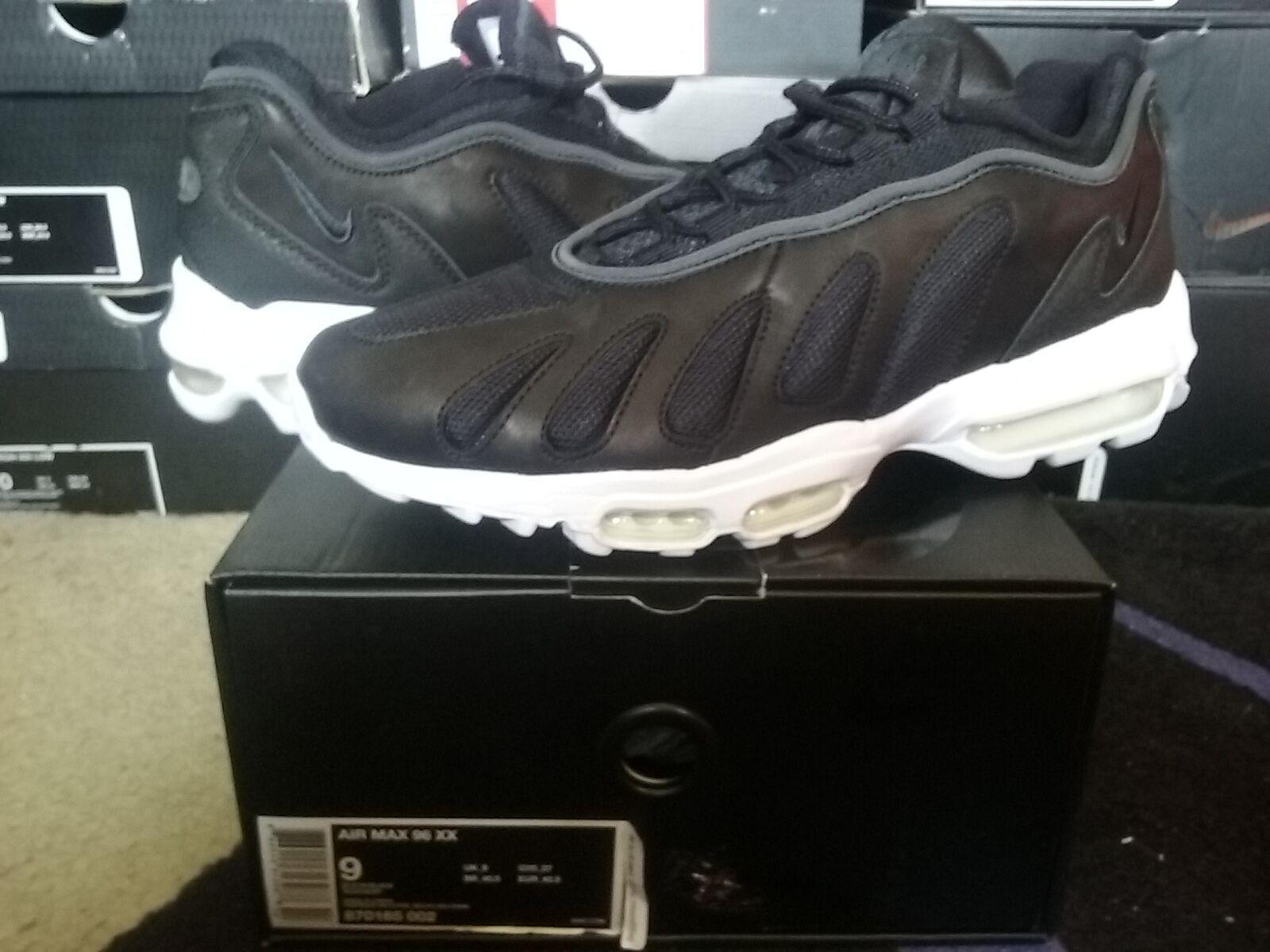Nike Air Max 96 XX 20 NikeLab Black White plus retro b 1 90 93 95 360 870165 002