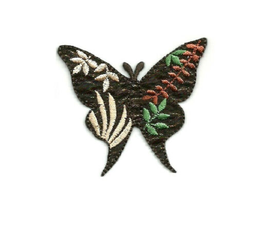 Insect Jungle Butterfly Iron On Applique Patch African
