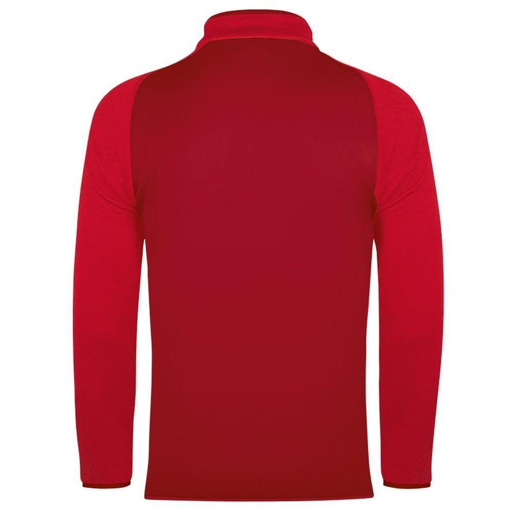 Jako Zip Zip Zip Top Champ Kinder Fußball Sweatshirt Pullover dunkelrot rot f62264