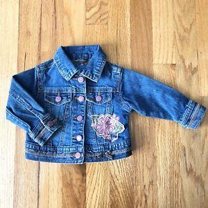 The Childrens Place Baby Girls Denim Jacket
