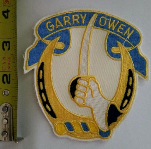 US Military 7th Calvary Garry Owen Patch