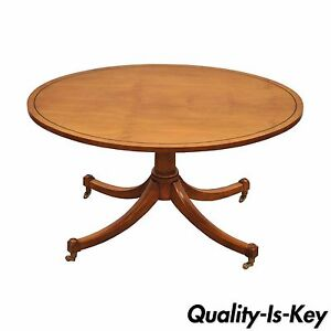 Image Is Loading Vintage Duncan Phyfe Baker Furniture Oval Maple Accent