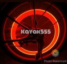 NEON LED VALVE STEM CAR RIM TIRE LIGHTS WHEEL ACCESSORIES GLOW LIKE KNIGHT RIDER