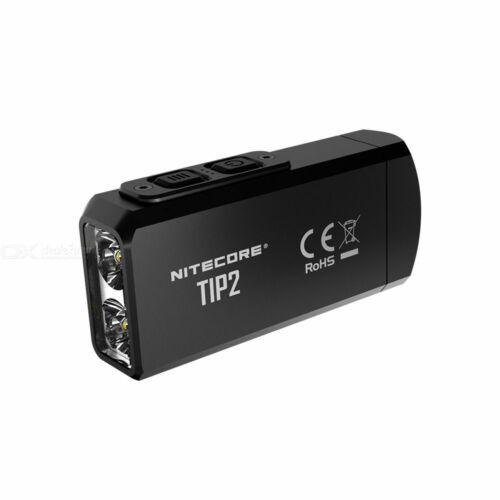 NITECORE TIP2 Mini Super Bright USB Magnetic T6 LED Flashlight Torch Keychain