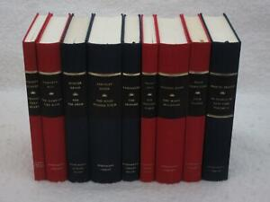 Lot-of-9-EVERYMAN-039-S-LIBRARY-World-Literature-Classics-Achebe-Eco-Grass-Levi-Mann