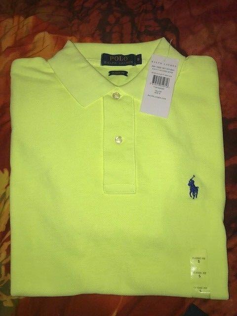 Polo Ralph Lauren 100% Genuine Brand New Classic Fit Short sleeve Men's T-Shirt