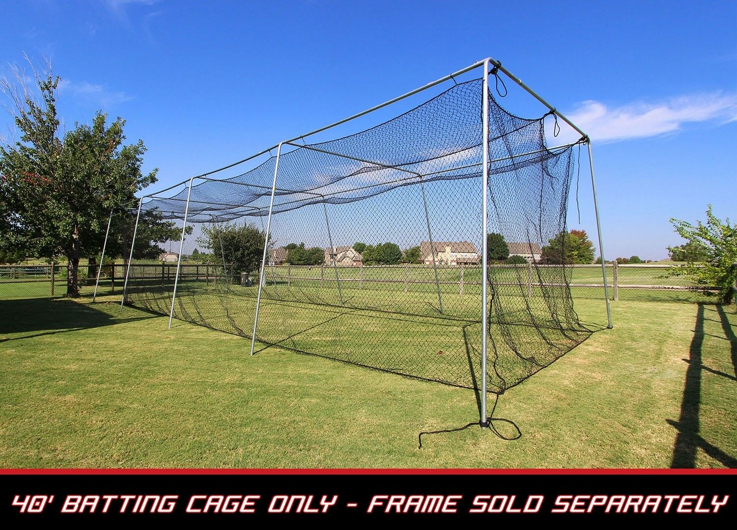 Cibrown  Twisted Poly Batting Cage Net