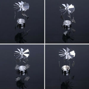 Light-Spinning-Home-Decoration-Candle-Holder-Rotating-Candle-Stand-Carrousel