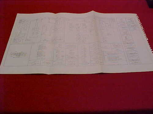 1984 FORD RANGER ORIGINAL ELECTRICAL WIRING DIAGRAM SCHEMATICS SERVICE MANUAL 84