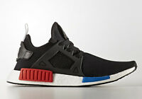 New Mens Adidas NMD XR1 OG 2017 PK BY1909 Black Red Blue Primeknit Boost Ultra