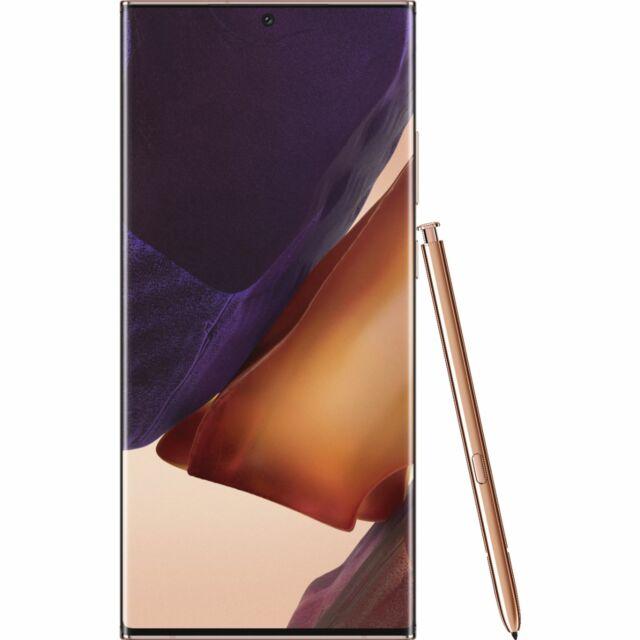 Samsung Galaxy Note20 Ultra N985F 256GB Unlocked GSM Phone - Mystic Bronze
