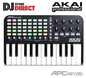 Details about AKAI APC Key 25 - Ableton Live MIDI USB Keyboard Controller +  Ableton Live Lite