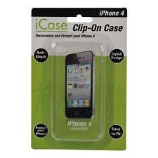 Phone Case iPhone 4 4G Hard Case Crystal Clear Antishock Stylish Hard Wear