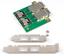 Mini SAS SFF-8088 To SAS 36Pin SFF-8087 PCBA Female Adapter With PCI Bracket