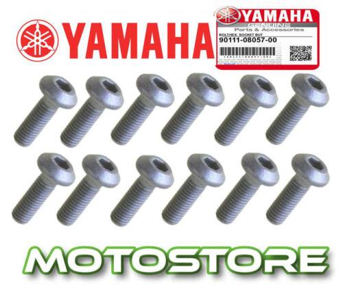 GENUINE FRONT DISC ROTOR MOUNT BOLTS SCREWS SET YAMAHA V-MAX 1200 1991-2009