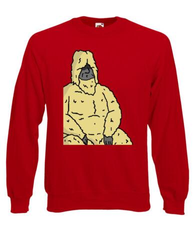 Big lez Show Officieux longs poils Sasquatch Sassy Australie Pull Sweater AI89