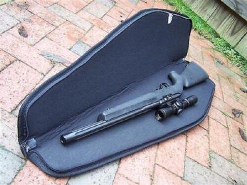 New Rifle Case 48in Shotgun Padded Bag Storage Gun Water Resistant w// Black Trim