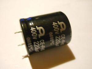 Condensateur-Chimique-SNAP-220-F-400-V-85-C