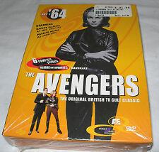 The Avengers '64 Set 1 British TV Cult Classic Set1 OOP Sealed 2000 NEW