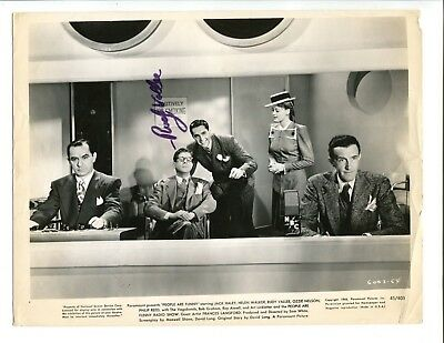 Entertainment Memorabilia Autographs-original Rudy Vallee Signed Vintage 8x10 Photo Jsa/psa Guarantee 100% Original