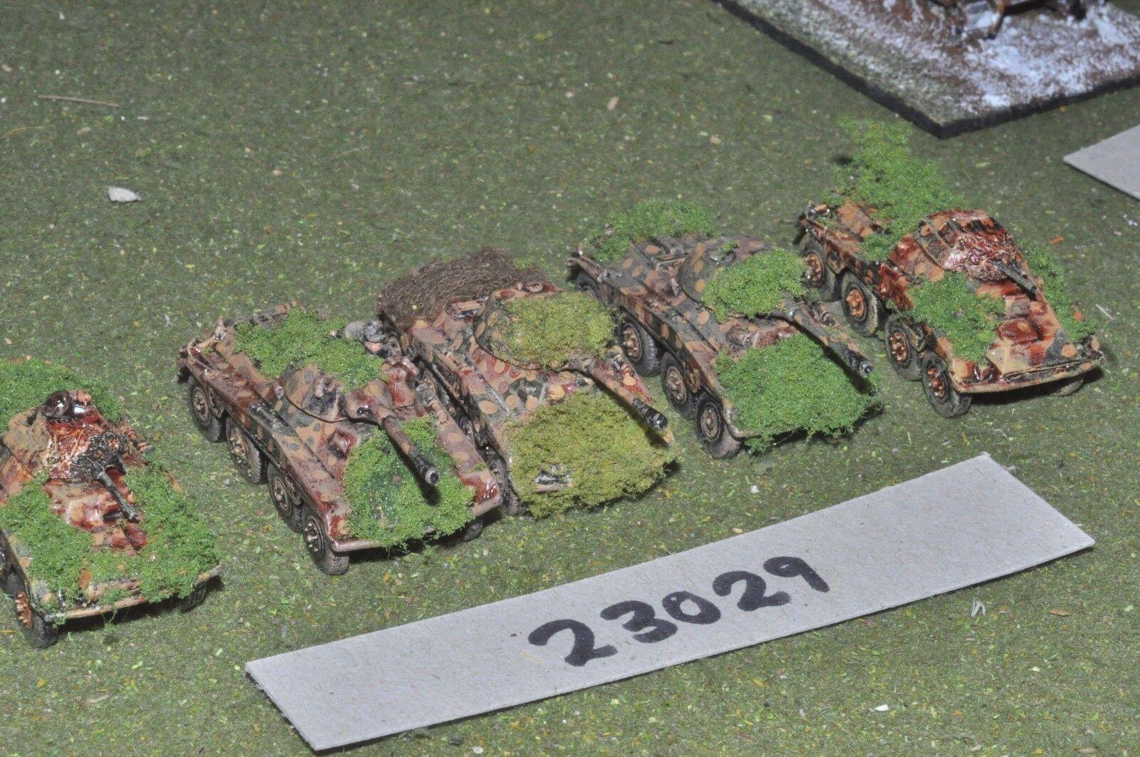 15mm WW2   german - 5 puma A C's - vehicles (23029)