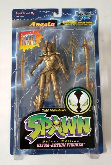 Spawn Gold Angela Action Figure MCFARLANE TOYS 1995 Deluxe édition limitée